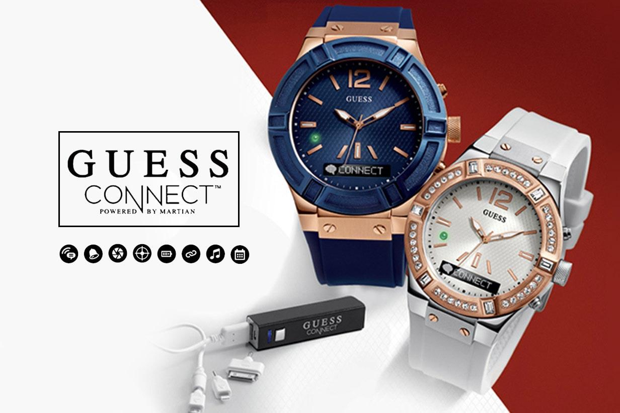 Guess Connect - Where Analog Meets Smart