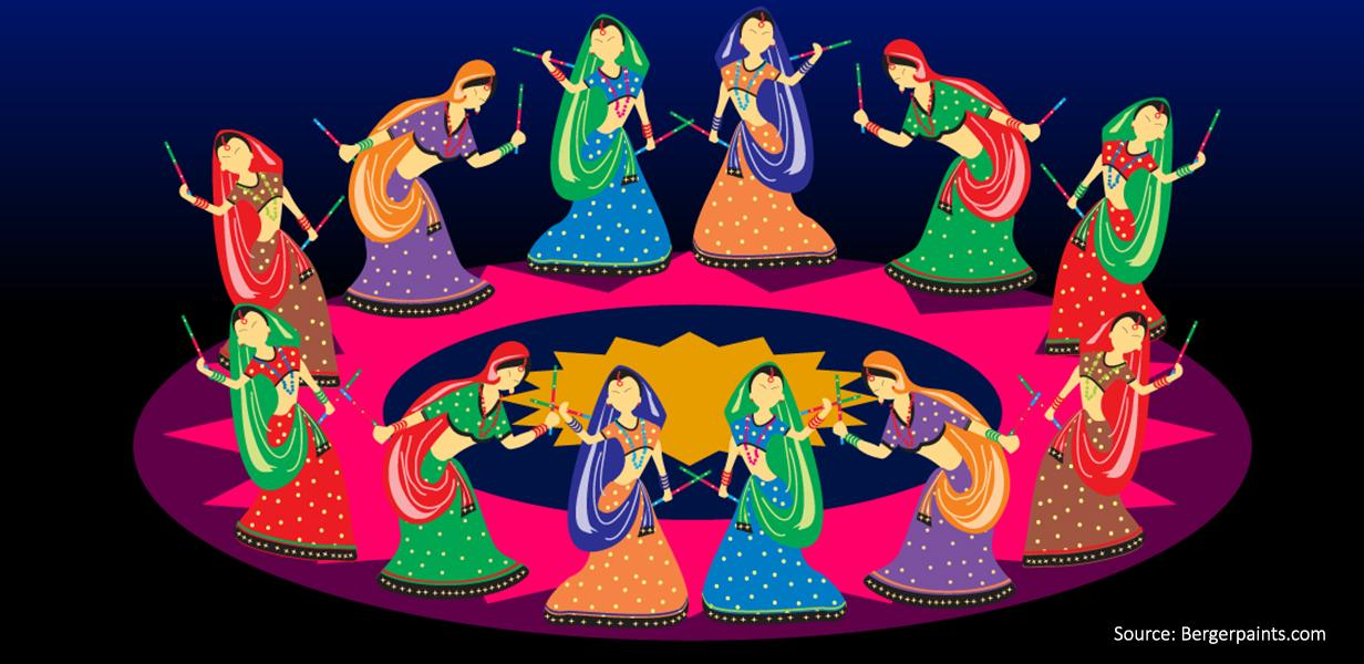 colours of navratri