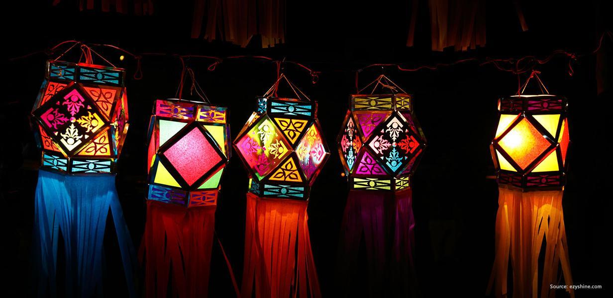 Easy DIY Diwali Lantern Making Ideas