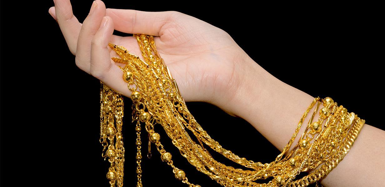 Layered Jewellery