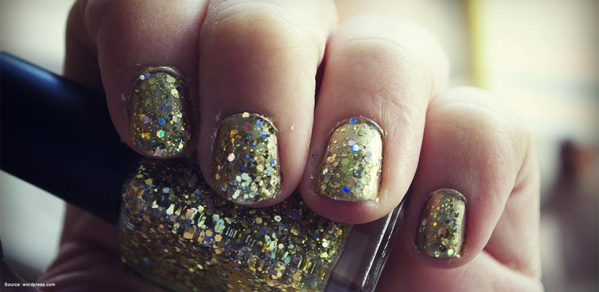 Are You Applying Your Glitter Nail Polish The Right Way