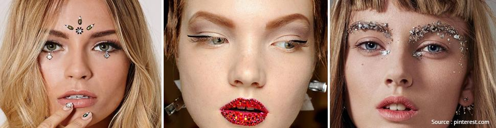 Stunning Crystal Makeup Trends