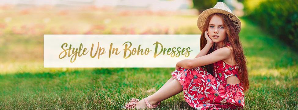 Show-Stopping Boho Dresses For Girls