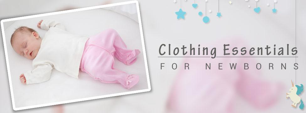 The Clothing Checklist For Your New Born