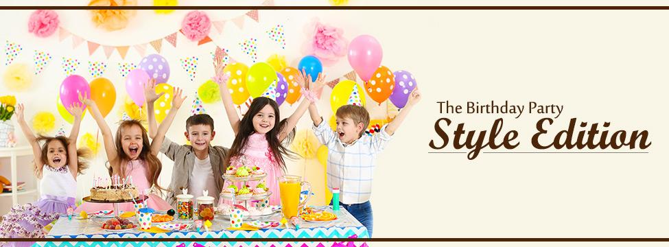 Birthday Party Dressing For Kids Simplified