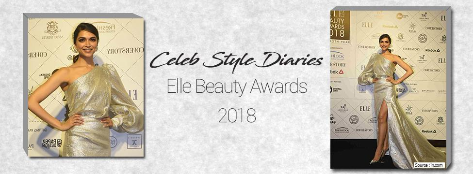 With The Stars At The Elle Beauty Awards 2018