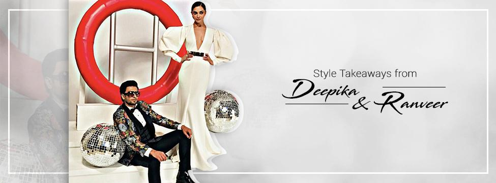 Best Deepika And Ranveer Looks To Takes Notes From
