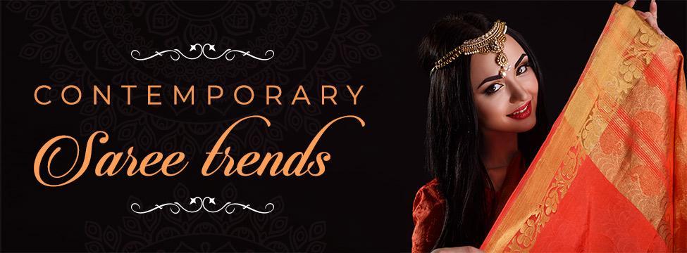 Contemporary Saree Trends