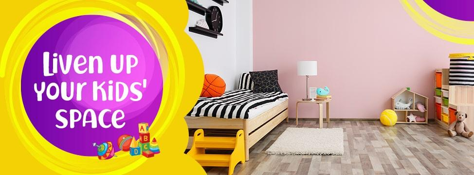 10 Ways To Personalise Your Kids' Room Decor