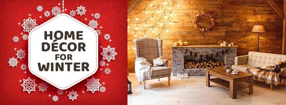 Decorate Your Home To Suit These Winter Décor Themes