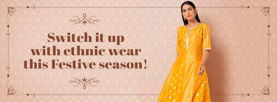 Welcome The Festive Season In Ethnic Chic