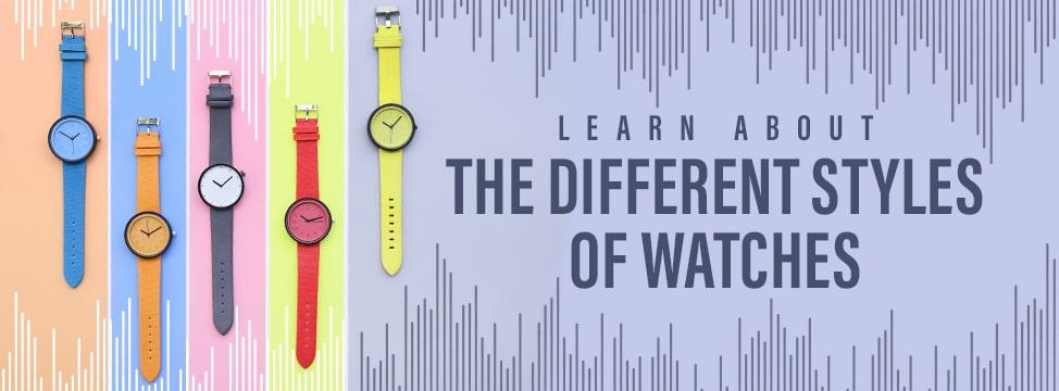 Buying A Watch? Know The Types You Can Choose From