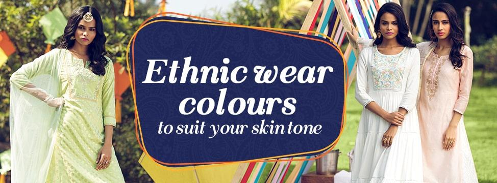 6 Ethnic Outfit Colours That Match Your Skin Tone The Best