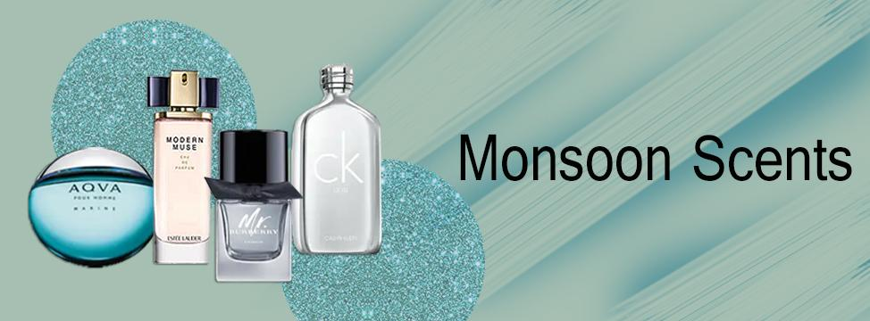 Perfume Notes for the Monsoons