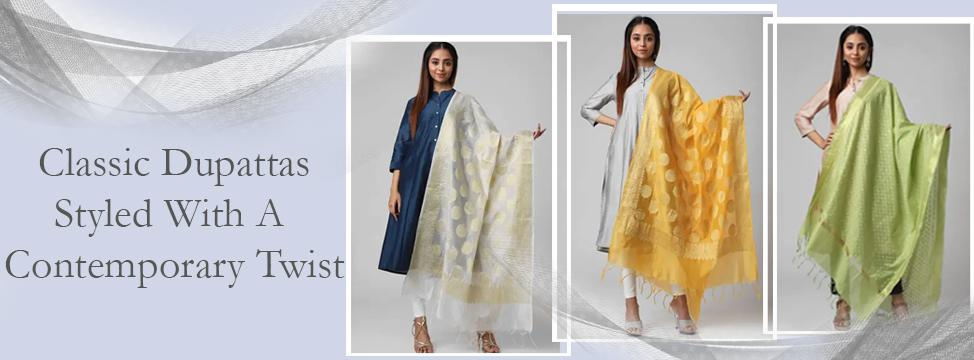 Rethink Dupattas With Contemporary Drapes