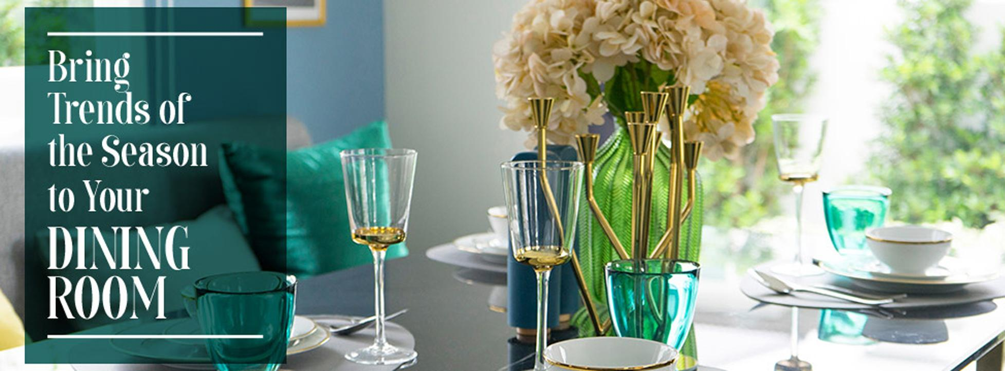 Bring the Trends of the Season to Your Dining Table