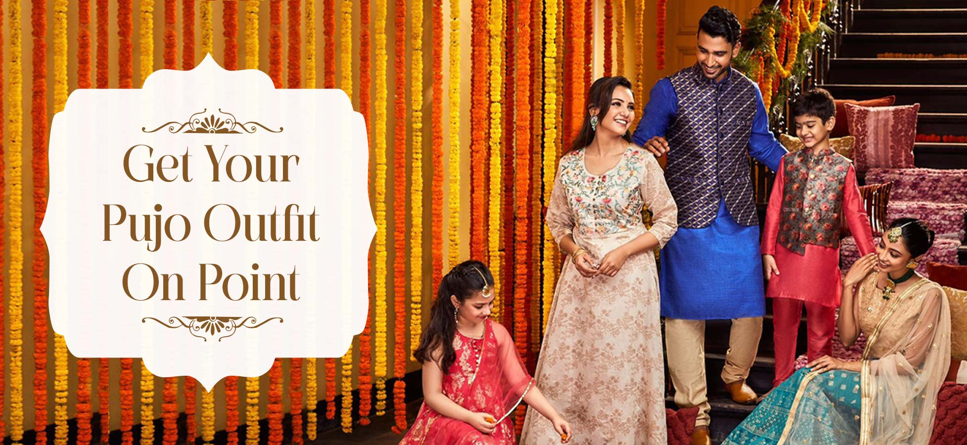 Traditional Durga Pujo Lookbook For The Family