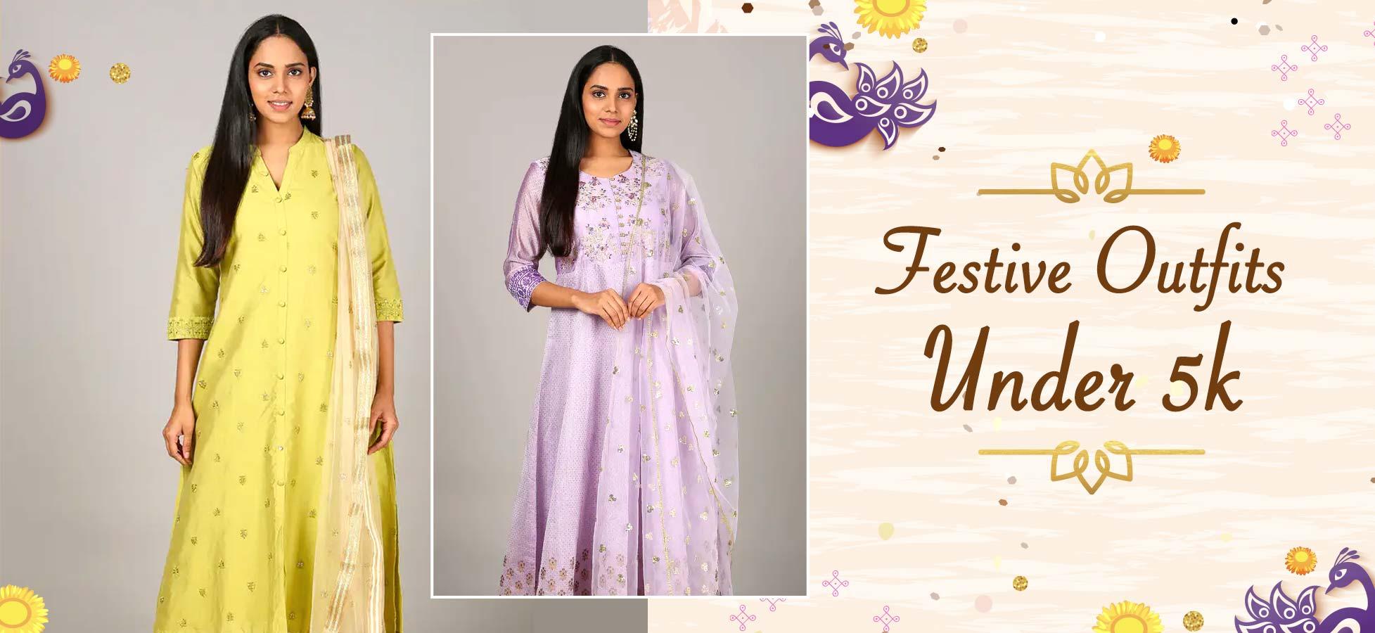 Indian Wear Essentials Under 5k For The Festive Season